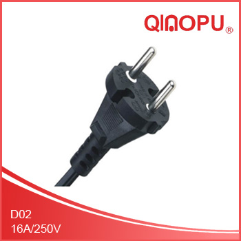 VDE certification tool plugs,the EU regulation 16A two core plug
